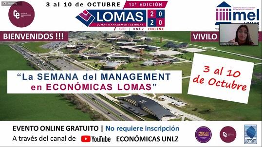 Lomas Management Seminar 2020: Una semana de alto nivel académico y profesional